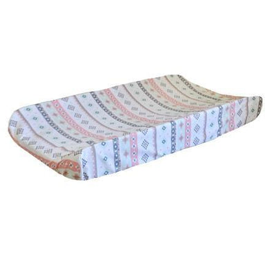 Changing Pad Cover | Pink Cheyenne-Changing Pad Cover-Default-Jack and Jill Boutique