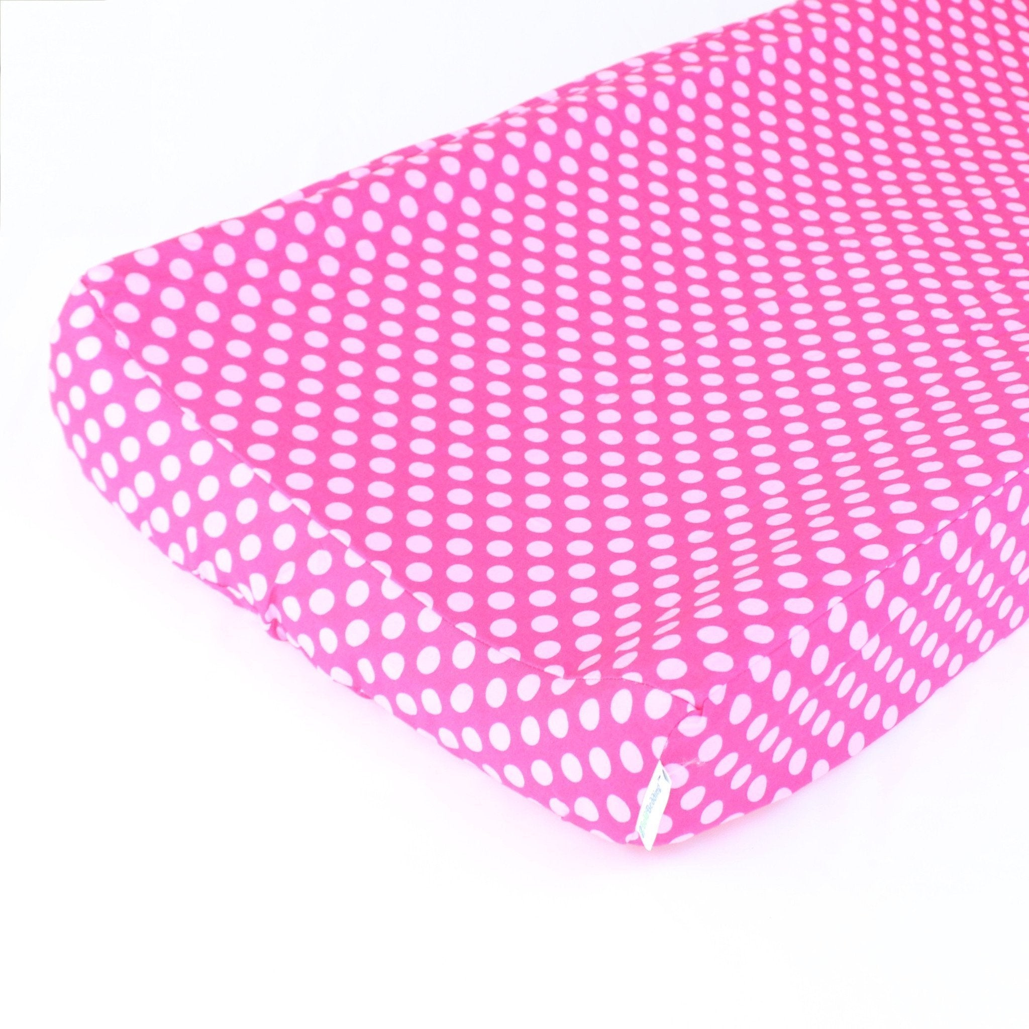 Changing Pad Cover | Pink Confection Dots-Changing Pad Cover-Bold Bedding-Jack and Jill Boutique
