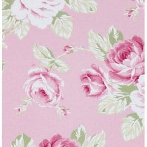 Changing Pad Cover | Pink Floral Pink Desert Rose