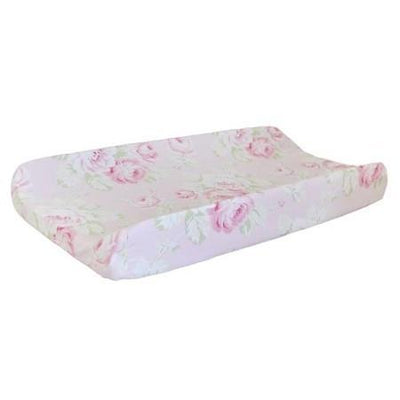 Changing Pad Cover | Pink Floral Pink Desert Rose-Changing Pad Cover-Default-Jack and Jill Boutique