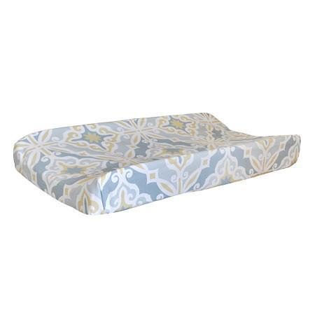 Changing Pad Cover | Starburst in Gold-Changing Pad Cover-New Arrivals-Jack and Jill Boutique