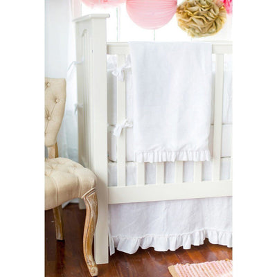 Changing Pad Cover | White Linen Madison Avenue-Changing Pad Cover-Default-Jack and Jill Boutique
