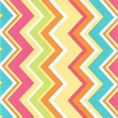 Changing Pad Cover | Yellow & Pink Chevron Sunnyside Up-Changing Pad Cover-New Arrivals-Jack and Jill Boutique