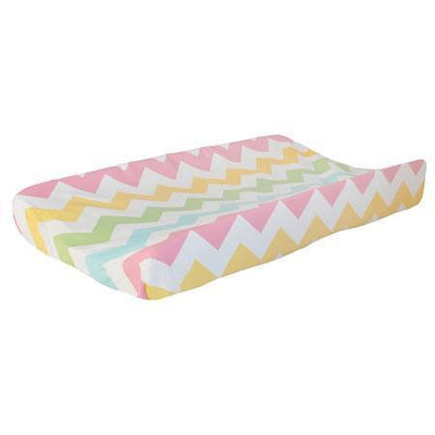 Changing Pad Cover | Zig Zag Baby in Rainbow-Changing Pad Cover-Default-Jack and Jill Boutique