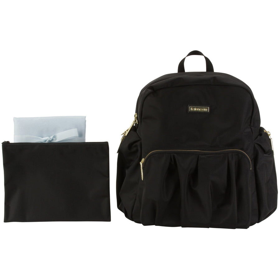 Chicago Backpack Urban Sling - Black Diaper Bag | Style 3002 - Kalencom-Diaper Bags-Default-Jack and Jill Boutique