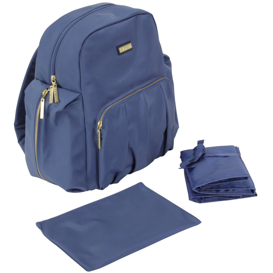 Chicago Backpack Urban Sling - Marine Blue Diaper Bag | Style 3002 - Kalencom-Diaper Bags-Default-Jack and Jill Boutique