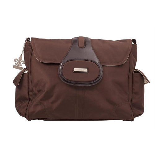 Chocolate Elite Diaper Bag-Diaper Bags-Jack and Jill Boutique