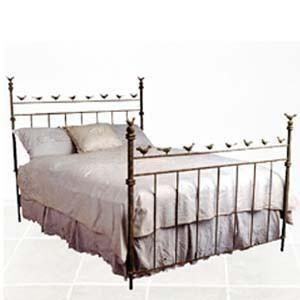 Complete Finished Bed-Brass Bed-Jack and Jill Boutique