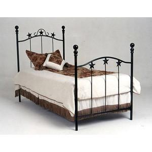 Complete Finished Bed Twin-Brass Bed-Jack and Jill Boutique