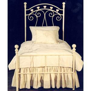 Complete Finished Bed Twin/ Queen-Brass Bed-Jack and Jill Boutique