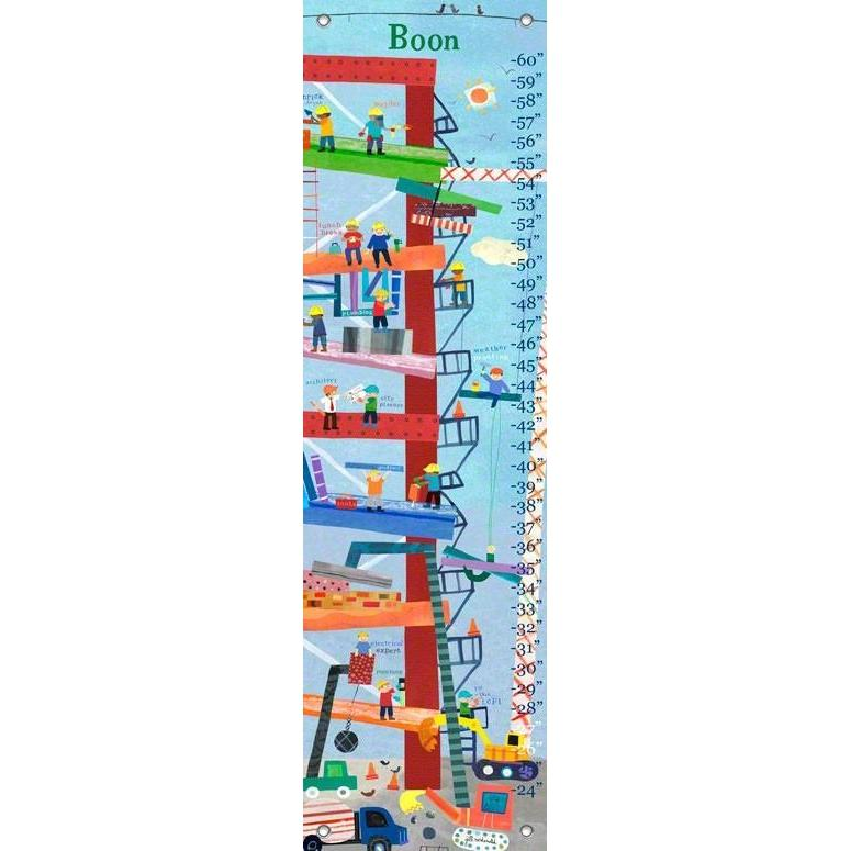 Construction Growth Charts Jack And Jill Boutique