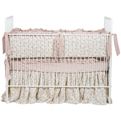 Contemporary Metal Stationary Crib-Crib-Jack and Jill Boutique