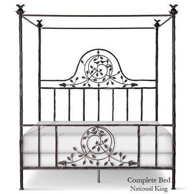 Corsican Iron Canopy Bed 42686 | Twiggy Canopy Bed-Canopy Bed-Jack and Jill Boutique