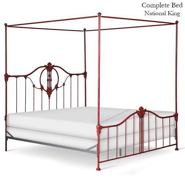 Corsican Iron Canopy Bed 42918 | Bastia Canopy Bed