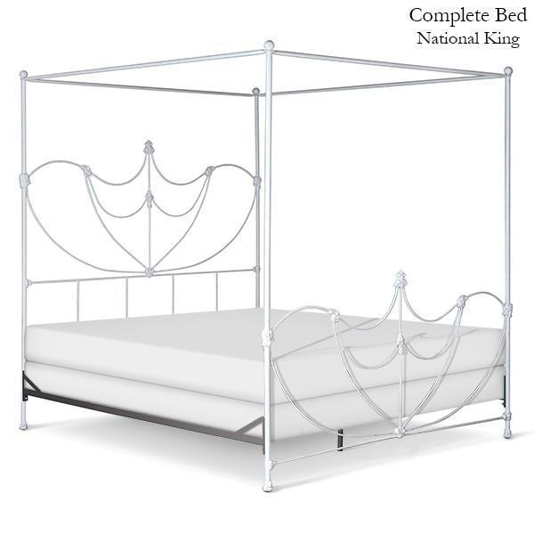 Corsican Iron Canopy Bed 43064 | Lotus Canopy Bed-Canopy Bed-Jack and Jill Boutique