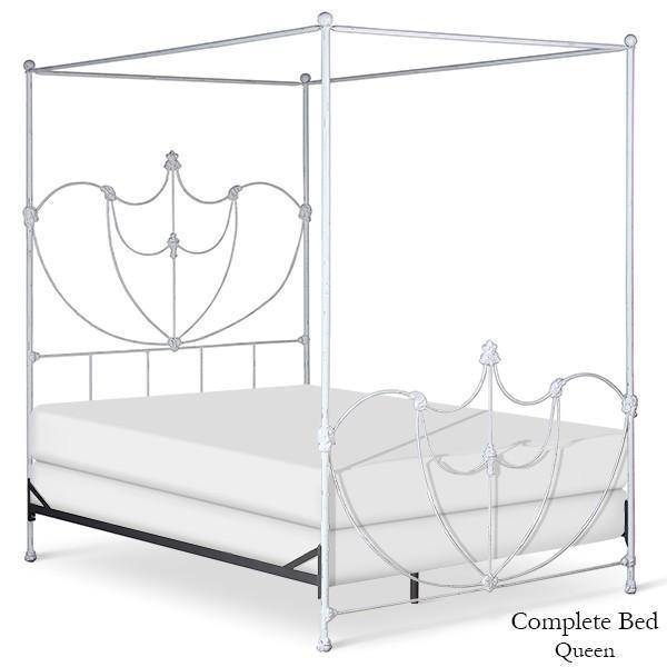 Corsican Iron Canopy Bed 43064 | Lotus Canopy Bed