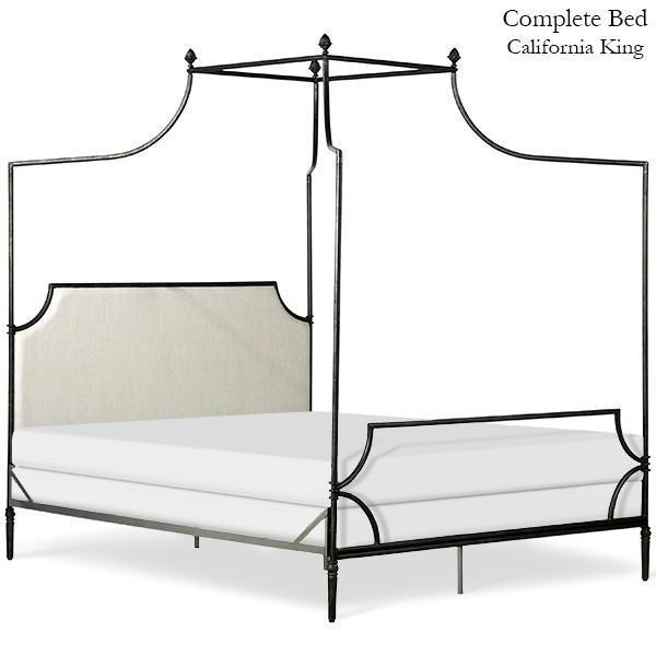 Corsican Iron Canopy Bed 43016 Gothic Canopy Bed Jack