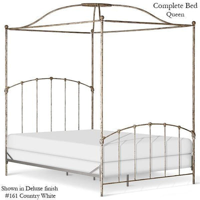 Corsican Iron Canopy Bed 43328 | Double Canopy Bed-Canopy Bed-Jack and Jill Boutique