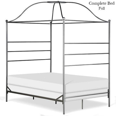 Corsican Iron Canopy Bed 43616 | Double Canopy Bed-Canopy Bed-Jack and Jill Boutique