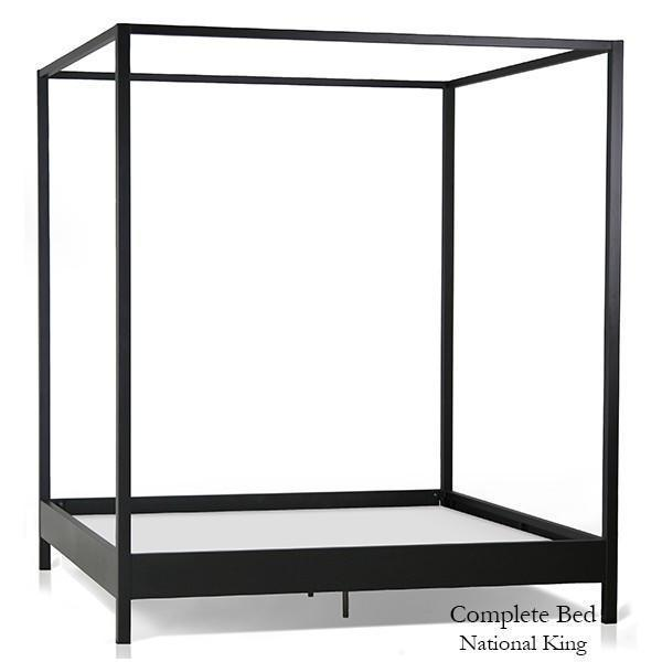 Corsican Iron Canopy Bed 43712 | Contemporary Canopy Bed-Canopy Bed-Jack and Jill Boutique