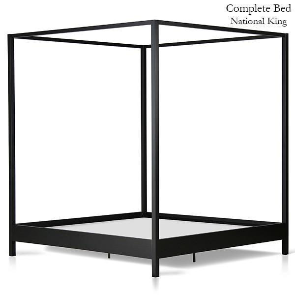 Corsican Iron Canopy Bed 43712 | Contemporary Canopy Bed