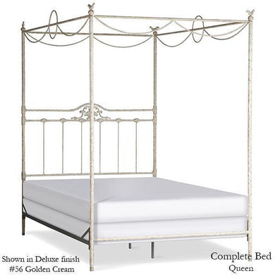 Corsican Iron Canopy Bed 6302 | Swag Canopy Bed with Shell and Birds  sc 1 st  Jack and Jill Boutique & Canopy Beds u2013 Jack and Jill Boutique