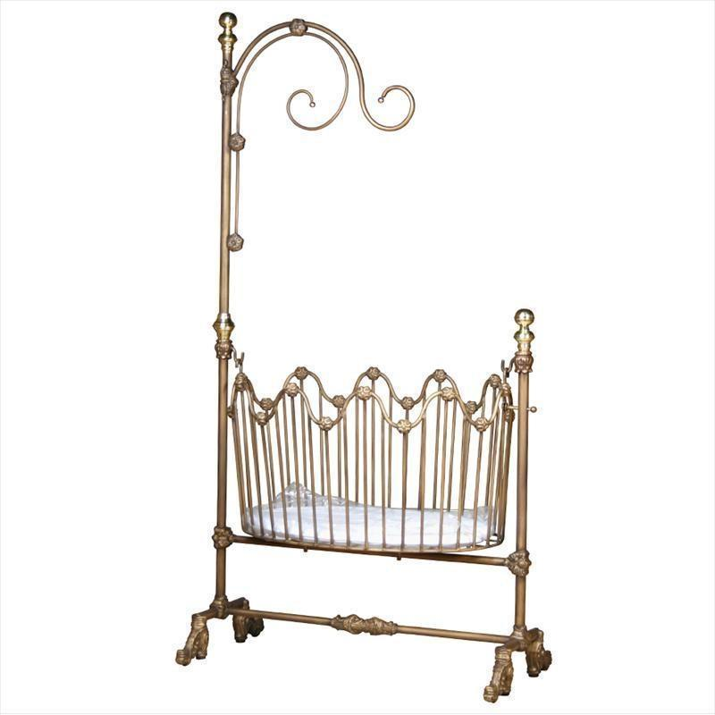 Corsican Iron Cradles 0642 | Dynasty Cradle-Cradle-Jack and Jill Boutique