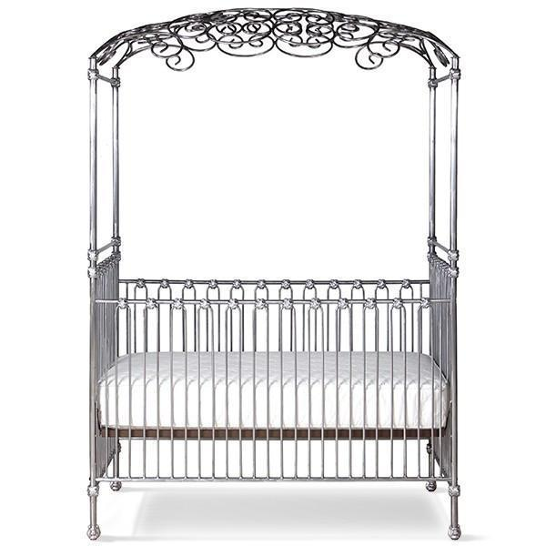 Corsican Iron Cribs 40148 | Stationary Opa Canopy Crib-Cribs-Jack and Jill Boutique
