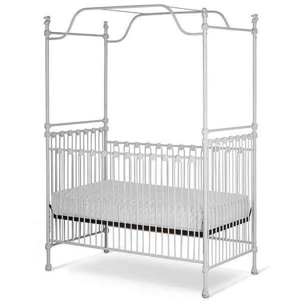 Corsican Iron Cribs 40194 | Stationary Canopy Crib-Cribs-Jack and Jill Boutique