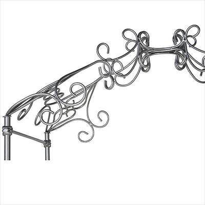 Corsican Iron Cribs 40228 | Stationary Princess Canopy Crib-Cribs-Jack and Jill Boutique