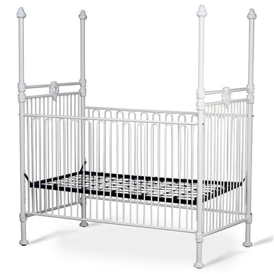 Corsican Iron Cribs 40418 | Stationary Four Post Crib-Cribs-Jack and Jill Boutique