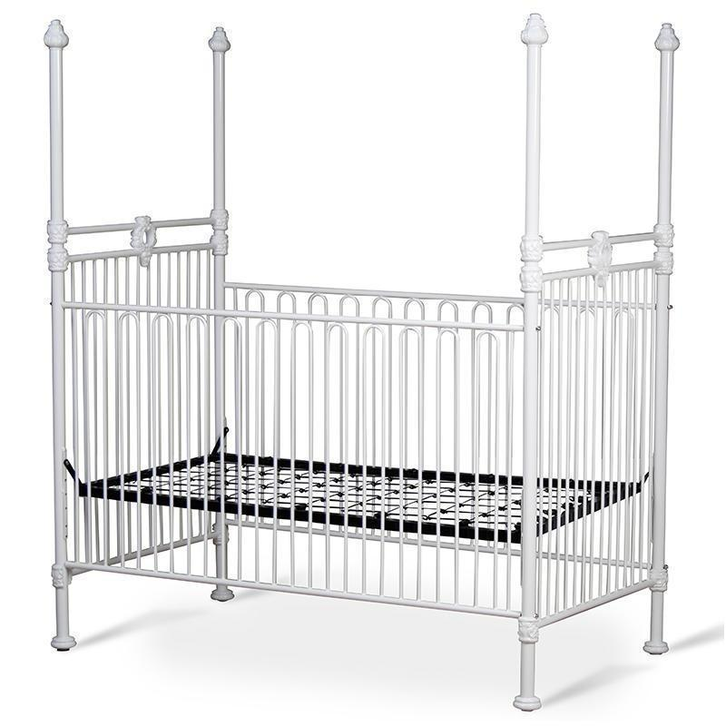 Corsican Iron Cribs 40418 | Stationary Four Post Crib