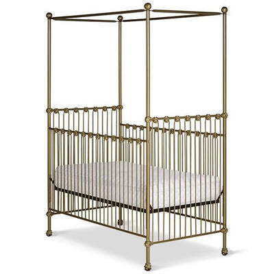 Corsican Iron Cribs 40568 | Stationary Canopy Crib-Cribs-Jack and Jill Boutique