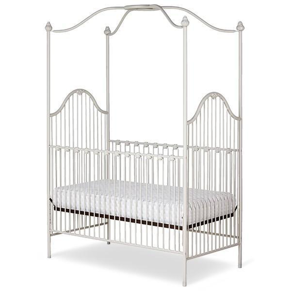 Corsican Iron Cribs 40828 | Stationary Canopy Crib-Cribs-Jack and Jill Boutique