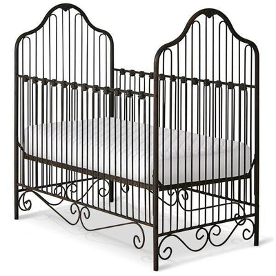 Corsican Iron Cribs 41306 | Stationary Crib-Cribs-Jack and Jill Boutique