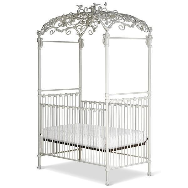 Corsican Iron Cribs 42262 | Stationary Canopy Crib-Cribs-Jack and Jill Boutique
