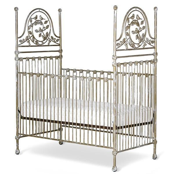 Corsican Iron Cribs 42458 | Stationary Versailles Garden Crib