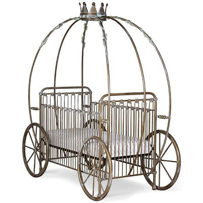 Corsican Iron Cribs 42664 | Stationary Pumpkin Canopy Crib-Cribs-Jack and Jill Boutique