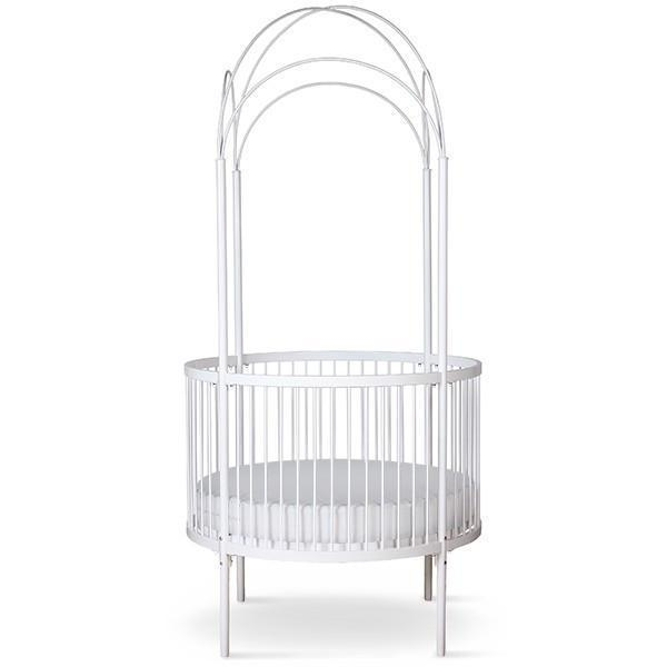 Corsican Iron Cribs 42810 Stationary Round Canopy Crib Jack And Jill Boutique