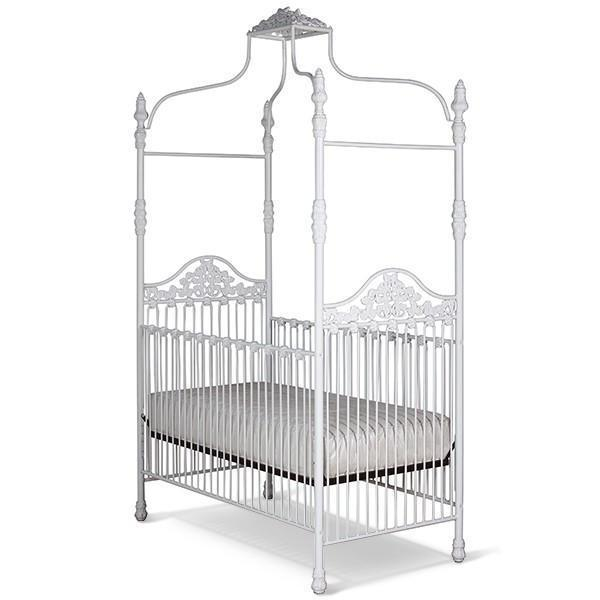 Corsican Iron Cribs 43422 | Stationary Canopy Crib-Cribs-Jack and Jill Boutique