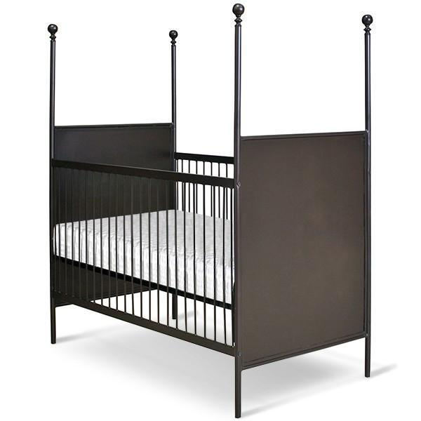 Corsican Iron Cribs 43456 | Stationary Four Post Metal Panel Crib-Cribs-Jack and Jill Boutique