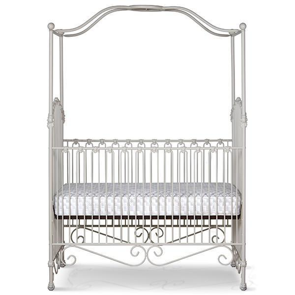 Corsican Iron Cribs 43458 | Stationary Canopy Crib-Cribs-Jack and Jill Boutique