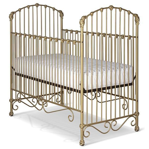 Corsican Iron Cribs 43558 | Stationary Crib-Cribs-Jack and Jill Boutique