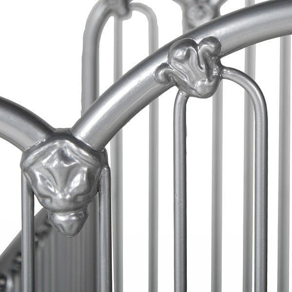 Corsican Iron Cribs 43594 | Stationary Crib-Cribs-Jack and Jill Boutique