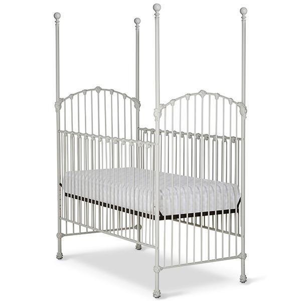Corsican Iron Cribs 43694 | Stationary Four Post Crib-Cribs-Jack and Jill Boutique