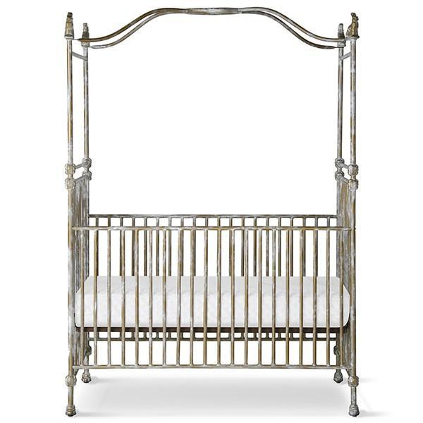 Corsican Iron Cribs 43720 | Stationary Canopy Crib-Cribs-Jack and Jill Boutique