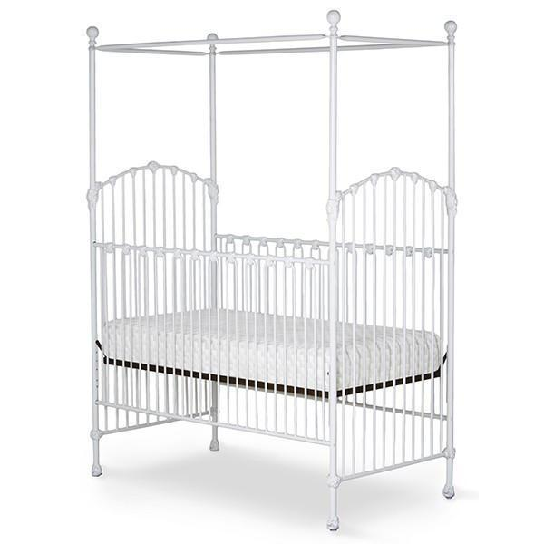 Corsican Iron Cribs 43740 | Stationary Canopy Crib-Cribs-Jack and Jill Boutique