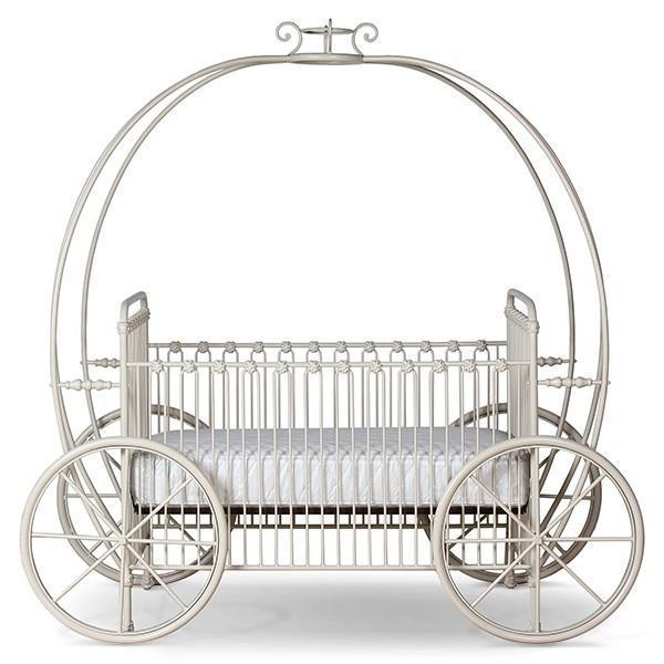Corsican Iron Cribs 43812 | Statonary Pumpkin Canopy Crib-Cribs-Jack and Jill Boutique