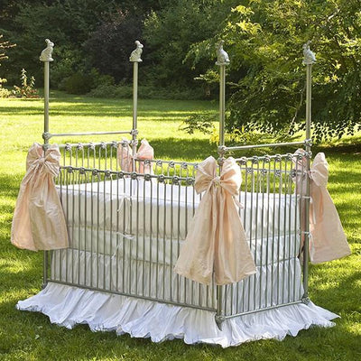 Corsican Iron Cribs 6778 | Stationary Four Post Crib-Cribs-Jack and Jill Boutique