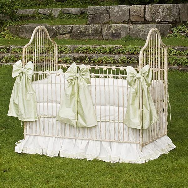 Corsican Iron Cribs 6862 | Stationary Crib